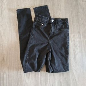 H & M high waist skinny jeans